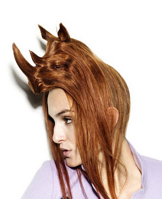 5 coolest animal hairstyles! Weird Hairstyles!