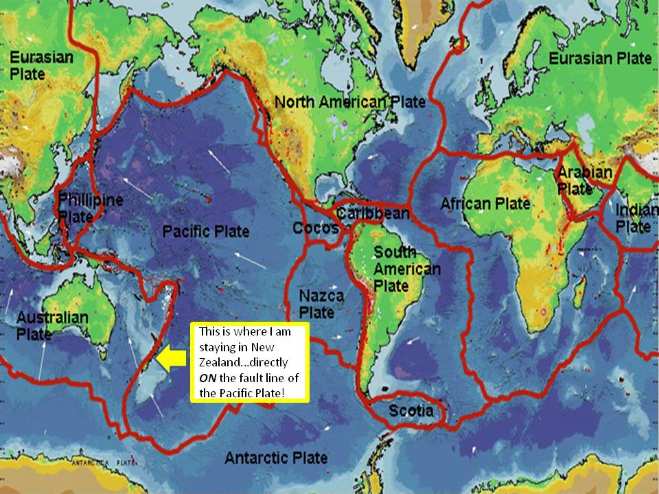 Earth Quakes Publish With Glogster - Map of major us fault lines