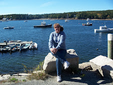 Jeri at the Pier in Bar Harbor, Maine