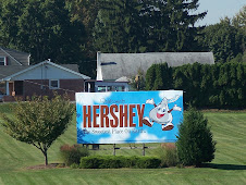 Entering Hershey, PA.
