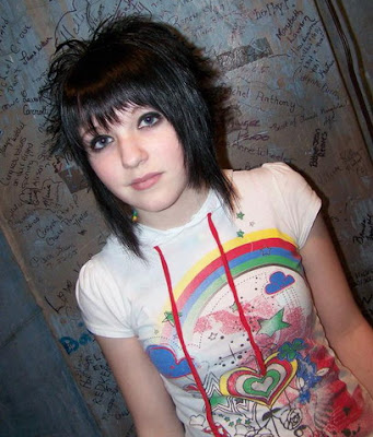 Emo Short Hairstyles part 02