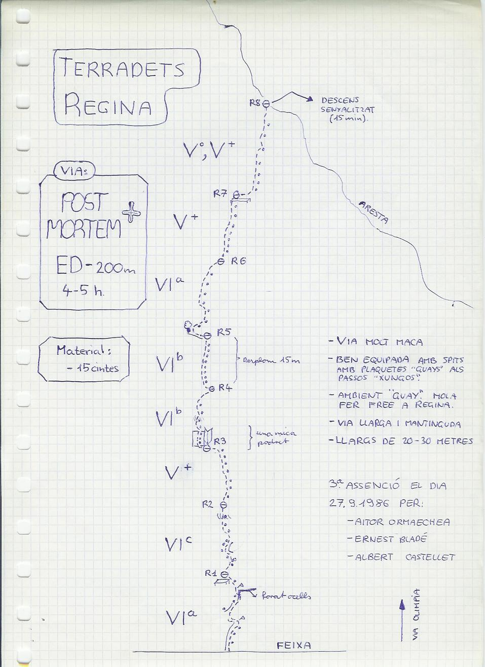 Roca Regina,  via Post Mortem Post_Mortem