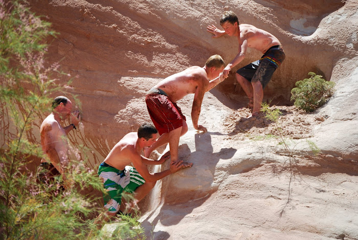 WHEN THE GOING GETS TOUGH, THE TOUGH GO TO LAKE POWELL!