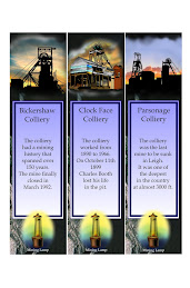 Wigan Colliery Bookmarks 12 Designs