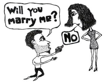 marriage proposal cartoon