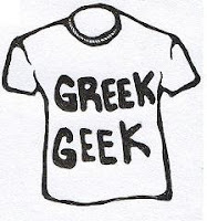 GREEK GEEK, T-SHIRT
