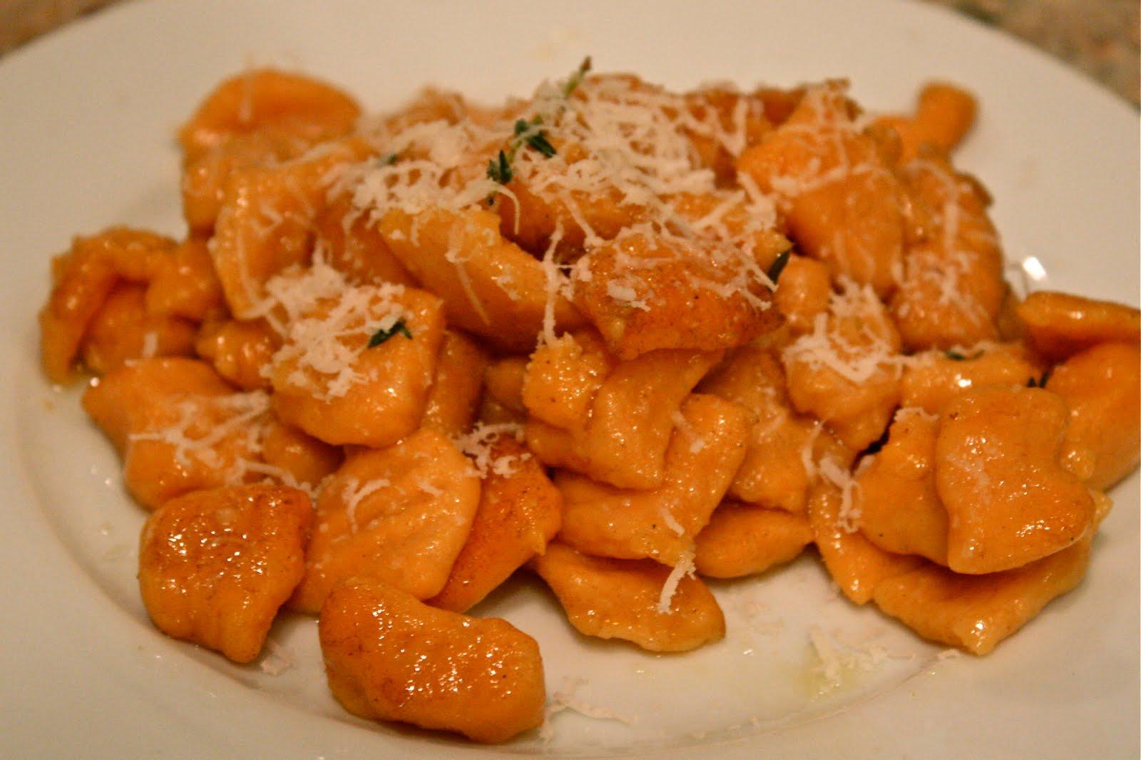 food & femininity: Sweet Potato Gnocchi