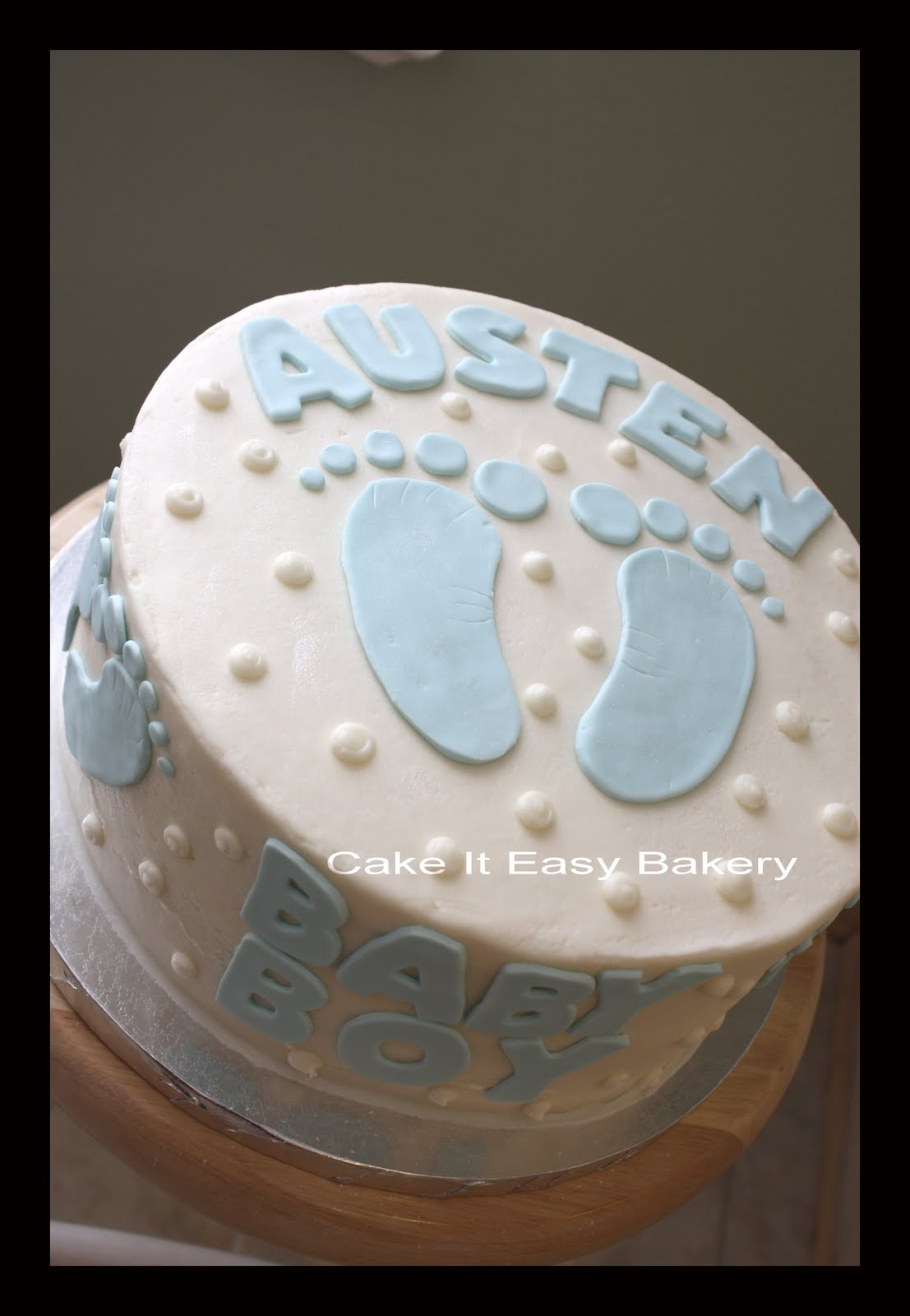 baby a baby shower cake