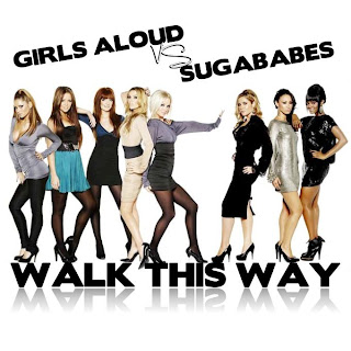 Girls Aloud vs. Sugababes - Walk This Way (Promo CDS)