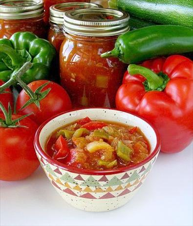 Recipes for canning salsa
