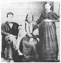Drusilla Hendricks with granddaughter Elizabeth Gammell and husband Eli Harris