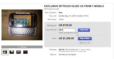 myTouch Slide eBay
