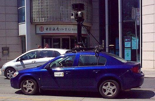 google maps car. more tool of Google Maps.