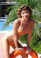 Murielle in a Malibu Strings bikini in the Canary Islands pic