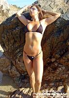 Telma in a Malibu Strings bikini in Cabo photo gallery