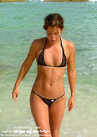 Kelsey in a Malibu Strings bikini in Cancun photo gallery