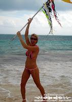 Lolo in a Malibu Strings bikini in Cancun photos gallery