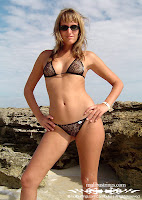 Jennifer in a Malibu Strings bikini in Africa with thong tricot mini g-strings bikini pictures gallery
