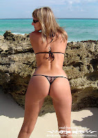 Jennifer in a Malibu Strings bikini in Africa with thong tricot mini g-strings bikini images gallery