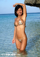 Myra Used Bandeau Bikini in the Philippines photos gallery