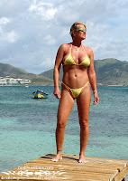 Patricia C in a Sparkle Sheer Bikini (Malibu Strings) in St. Martin pictures gallery