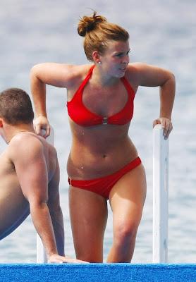 Pics photo Coleen McLoughlin In a Red Bikini
