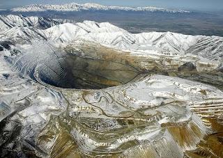 Bingham canyon mine, Salt Lake City, Utah USA image pic photo gallery