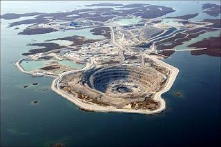 The Diavik diamond mine, Canada image pic photo gallery