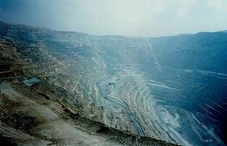 Chuquicamata copper mine - Chile image pic photo gallery