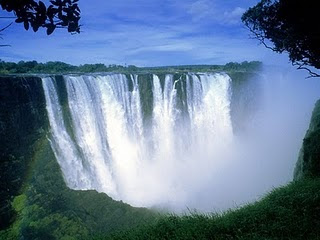 The New 7 (Seven) Natural Wonders of the World The Victoria Falls Picture pic image photo gallery