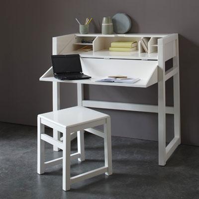Bureau console petit espace