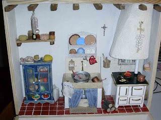 le mini dai monti: La cucina in miniatura 1)/ La cuisine en ...