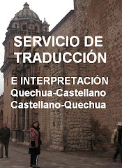 SERVICIO DE TRADUCCION EN INTERPRETACIN Castellano-Quechua-Castellano