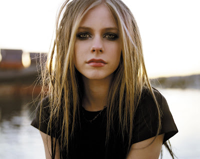 Avril Lavigne beautiful wallpaper