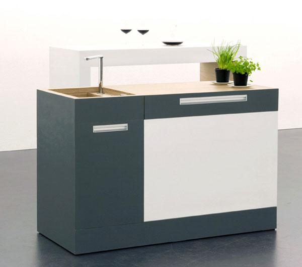 Interiores Casa: Cocina Compacta para Pequeños Apartamentos