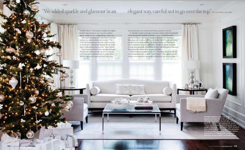 Interiores Casa Salas de estar Ocasión Navideña fresca