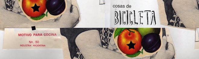 COSAS DE BICICLETA