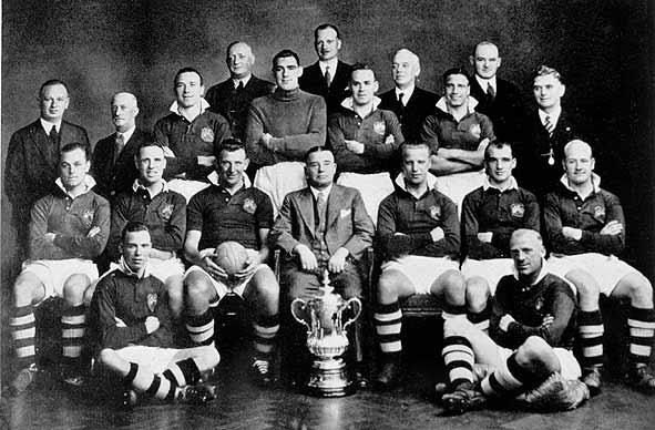 Il City vincitore in FA Cup 1934