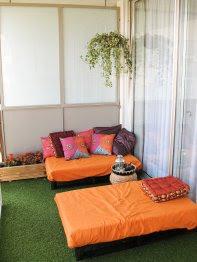 a continuacin podemos ver una cama que puede ser utilizada como cama o como sof