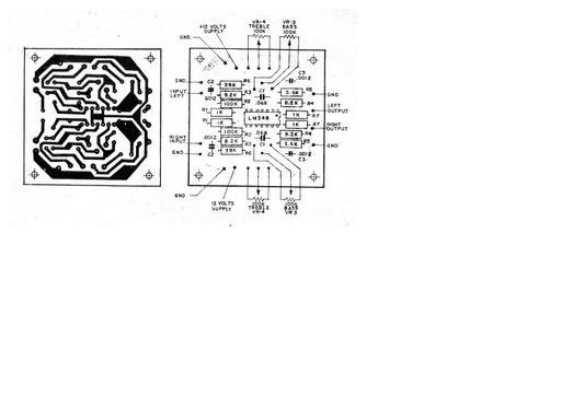 siera teknik elektronics  stereo tone control
