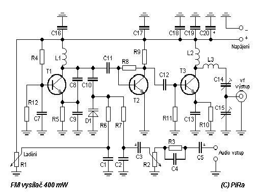 siera teknik elektronics vco fm transmiter 400mw rh sierateknik blogspot com FM Broadcast Transmitter Walmart FM Transmitter