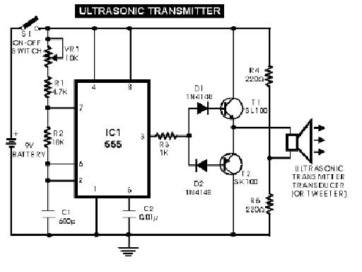 siera teknik elektronics  ultrasonic switch