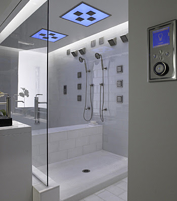 Bathroom Layout on Best Designs House  Kohler Steam Bathroom Design