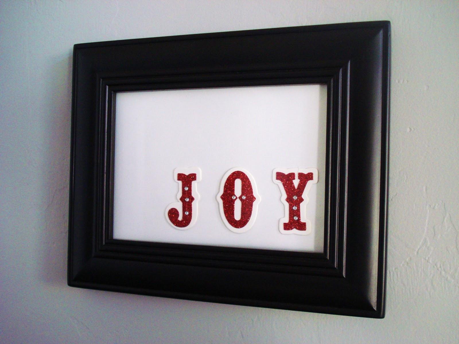 Simple Christmas Wall Display - Inspired RD