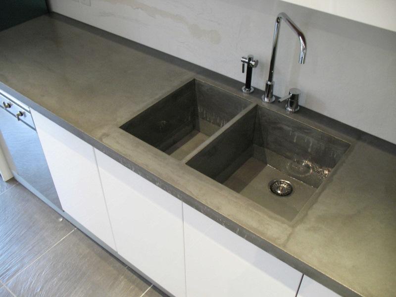 B ton l ge conception de mobilier design en b ton plan de travail de cuisine en b ton - Beton lcda ...