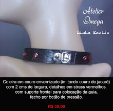 Acessórios - Coleira 17 - Atelier Omega