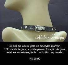 Acessórios - Coleira 31 - Atelier Omega