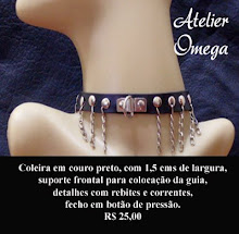 Acessórios - Coleira 7 - Atelier Omega