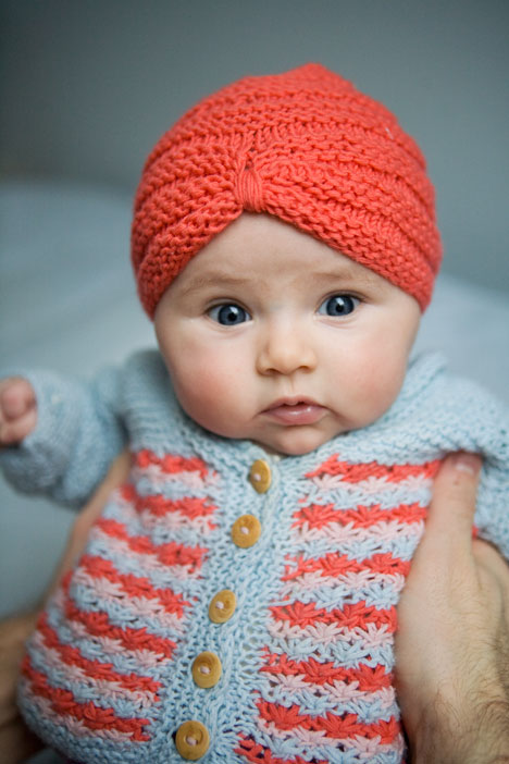 Knitting Pattern For Baby Turban : Baby Turban on Pinterest