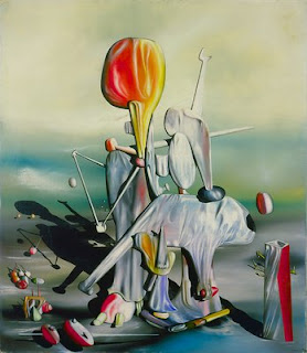 Yves Tanguy, Through birds through fire but not through glass (1943)